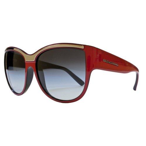 Dolce & Gabbana Detail Brow Cateye Sunglasses