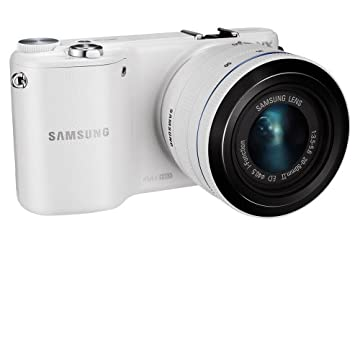 Samsung NX2000 20.3MP Smart Digital Camera with 20-50mm Lens (White)