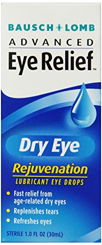Bausch & Lomb Advanced Eye Relief Rejuvenation Lubricant Eye Drops 1-Ounce