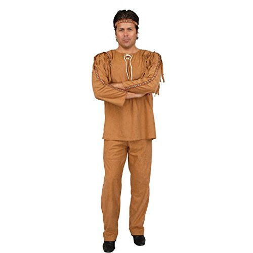 Adult Indian Brave Costume (Size:X-Small 34-36)