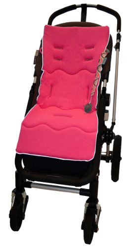Tivoli Couture Classic Memory Foam Stroller Liner, Flamingo Pink front-301022