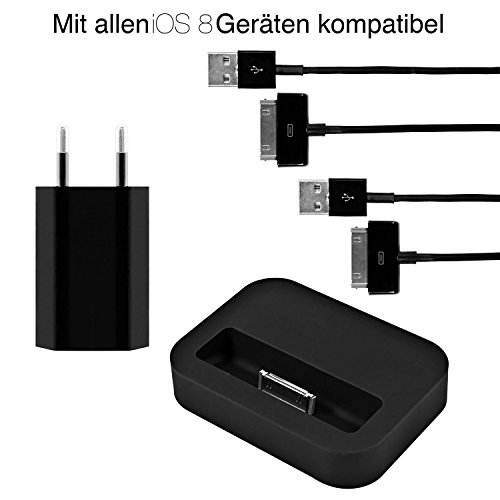 iProtect 4in1 Set mit 2x USB Ladekabel