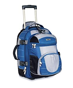 High Sierra A.T. Ultimate Access Carry-On Wheeled Backpack with Removable Day Pack by High Sierra