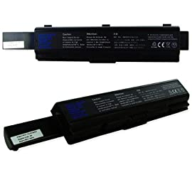 Toshiba Satellite A200-25U Laptop Battery, Li-Ion 10.8V 6600mA