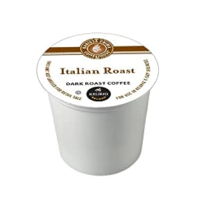 Barista Prima Coffeehouse Dark Roast Extra Bold K-Cup for Keurig Brewers, Italian Roast Coffee, 192 Count