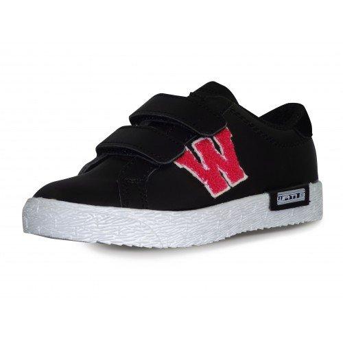 Wati B - Sneaker Unisex - Bambini , Nero (nero), 33