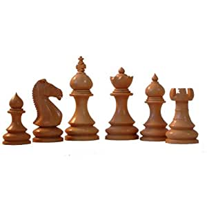 Grand taj decorative chess pieces in rosewood toys games - Ornamental chess sets ...