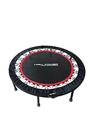 High Power Professional Trampolín Pro Rebound Negro / Rojo