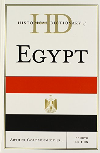 Historical Dictionary of Egypt (Historical Dictionaries of Africa)