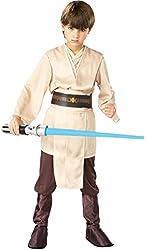 Boys Jedi Knight Kids Child Fancy Dress Party Halloween Costume