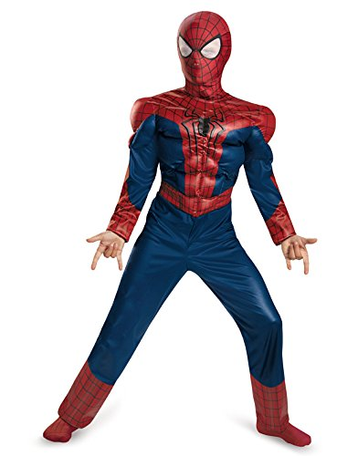 Disguise Marvel The Amazing Spider-Man 2 Movie Spider-Man Classic Muscle Boys Costume