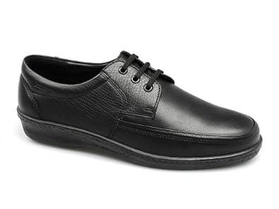 Padders Mens 'DASH' Black lace shoe. UK 6