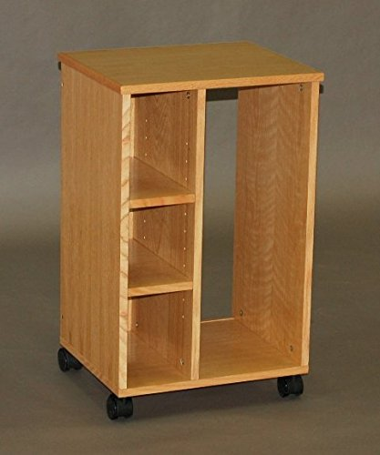 CPU Caddy, Mobile Floor Carrier (Natural Oak) (Cpu Cabinet compare prices)