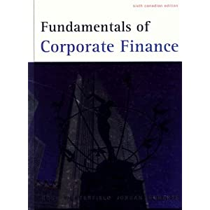 Fundamentals of corporate finance ross westerfield jordan 9th edition