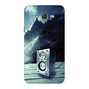 Speaker Of Snow Back Case Cover for Galaxy J7