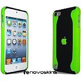 Novo iPod Touch 5G 5 Hard Case Flux Neon Verde y Negro