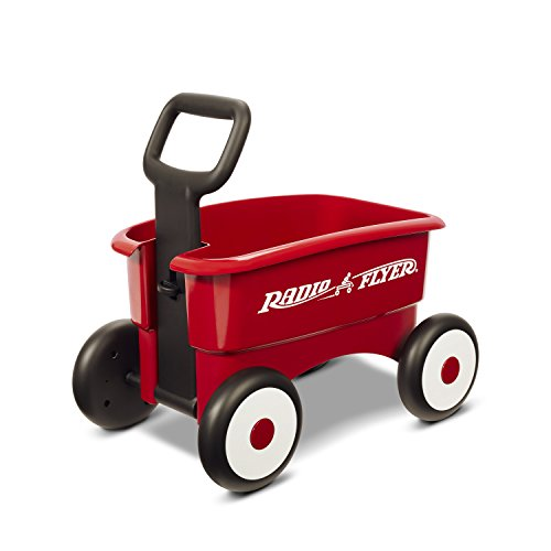 Radio-Flyer-My-1st-2-in-1-Wagon-Ride-On-Red
