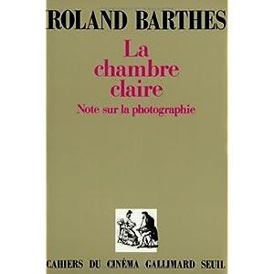chambre claire la roland barthes 9782070205417 books
