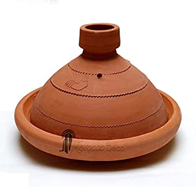 Tagine Touareg - Hand Made Tajine 30 Cm from Medina Souvenirs