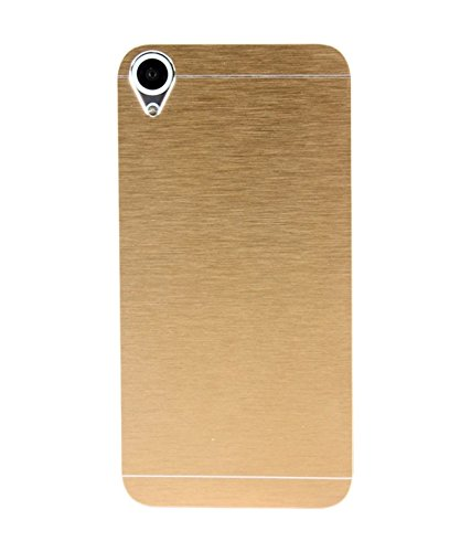 Mercator Motomo Back Cover for HTC Desire 626 G Plus (Gold)