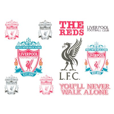 Liverpool FC Tattoo Pack