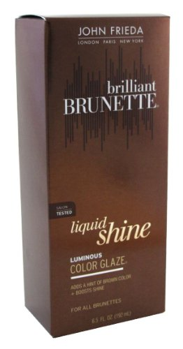 John Frieda Brilliant Brunette Liquid Shine Color Glaze 190 ml (Case of 6)