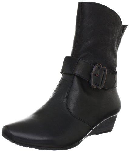 Think Liviana Ankle Boots Womens Black Schwarz (sz/kombi 09) Size: 7 (40.5 EU)