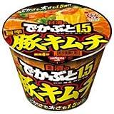 日清食品(株) でかぶと1.5 豚キムチ 109g