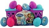 Disney s Frozen Candy Filled Eggs Easter Olaf Elsa Anna Basket, 18 Pack