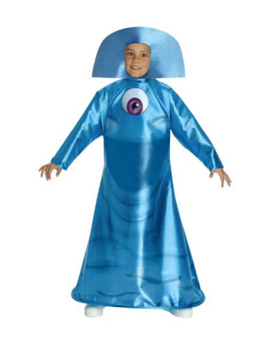 Kids-Costume Monster Vs Alien Bob Md Halloween Costume - Child Medium
