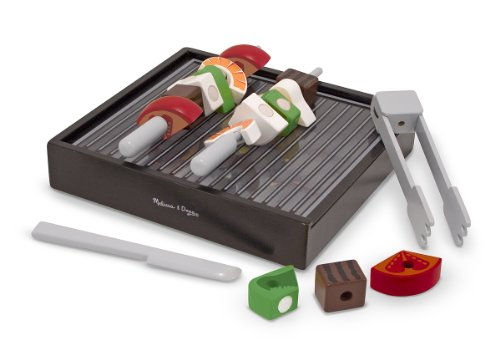 Melissa & Doug Grill Set (Play Food For Grill compare prices)