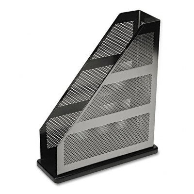 Rolodex 22635 Distinctions magazine file metal black 3-3 4w x 10-1 4d x 12-7 16hB0000AQOGT