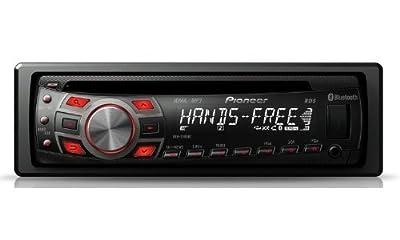 Pioneer DEH-7300BT CD-MP3-Tuner (Bluetooth-Freisprechen, USB 2.0, Apple iPod Dock, AUX-In) von Pioneer - Reifen Onlineshop