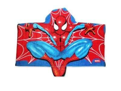 Spiderman Cityscape Hooded Towel front-1029261