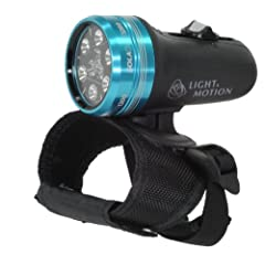 Light and Motion Sola Dive Light (800-Lumens, Blue) by Light and Motion
