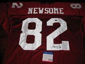 Ozzie Newsome Signed Uniform - Alabama hof Jsa coa - Autographed NFL Jerseys by Sports+Memorabilia