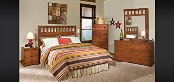 Bret Lee Bedroom Set -Panel Headboard Twin