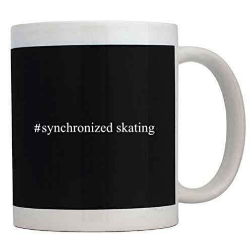 Teeburon Hashtag Synchronized Skating Coffee Mug