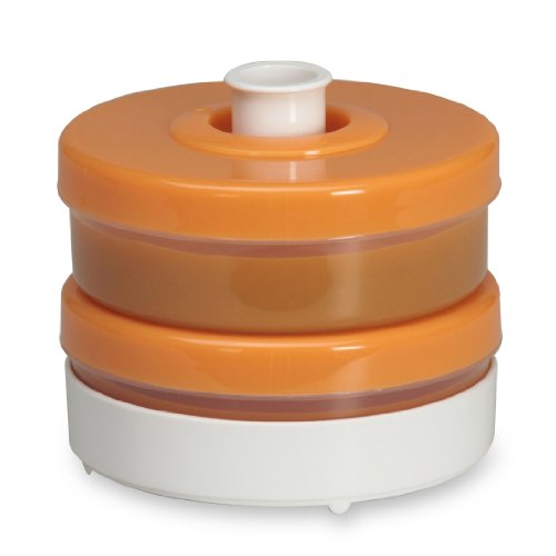 Imagen de Bebé Brezza Food System Storage: Duo en Orange