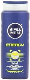Nivea For Men Energy Hair and Body Wa…