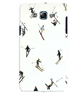 Citydreamz Skiing/Snow/Winters/Sports Hard Polycarbonate Designer Back Case Cover For Samsung Galaxy Grand 2 G7102