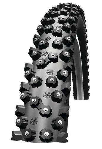 Reifen Schwalbe Ice Spiker HS 33326x2.10 Zoll 54-559 Schwarz-Skin 304 Spikes