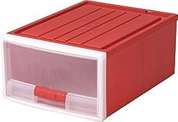 Izumikasei made in Japan Kids smart stocker 2M type Red 9076R (width 39 ~ 53 ~ back high 23cm)