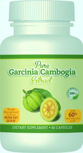 100% Pure Garcinia Cambogia extract with HCA, Clinically Proven, Made in the USA.