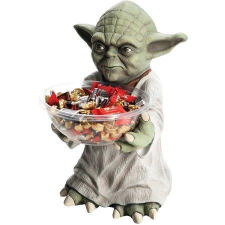 Yoda Candy Bowl Halloween Decoration (Yoda Bowl)