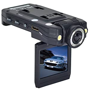 Car Dashboard Video Camera Accident DVR Full Hd Resolution HDMI Night Vision 2.0-Inch TFT LCD