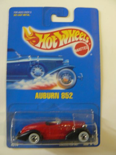 Hot Wheels Auburn 852 with Basic Wheels Collector #215 - 1