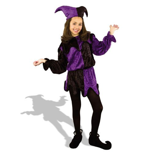 Jester Child Costume Size X-Large