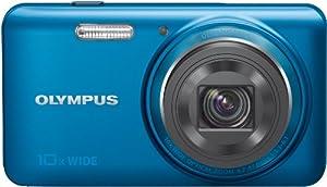 Olympus - Stylus VH-520 - Appareil photo numérique 14 Mpix - Zoom optique 10x - Capteur CMOS - Vidéo Full HD - Bleu