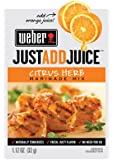 Weber Just Add Juice Marinade Mix, Citrus Herb, 1.12 Ounce (Pack of 12)